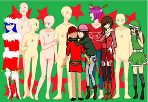 Christmas Party (Colab) by MotionlessGamer