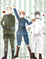Hetalia: Axis powers Fanart by Screeper-Chan