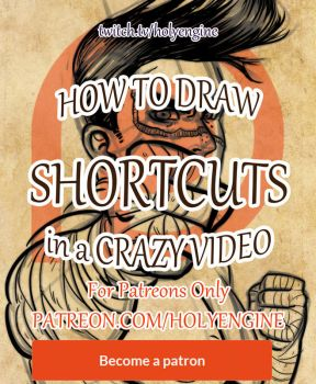 New Video Tutorial SHORTCUTS by Holyengine