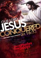 Jesus conquered by Styve-gh