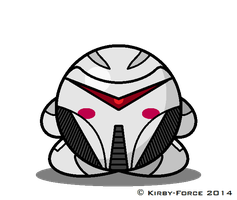 Kirby BSG: Cylon Centurion (TRS) by Kirby-Force