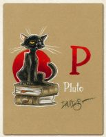 P is for Pluto by Disezno