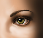 Digital Painting - Eye by juliajm15