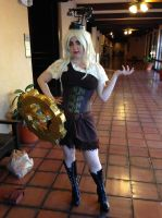 Steampunk Gear Girl - 2013 Jack 'O Con by The-1One