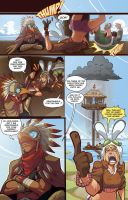 TORTOISE AND HARE part3 pg2 by MikeLuckas
