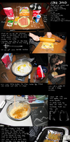 How to make corn dogs by BrocX