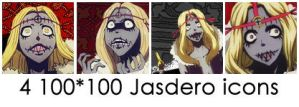 D.Gray-man Jasdero icons by rinfaustus