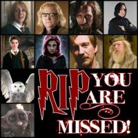 Harry Potter Deaths :SPOILERS: by MissMusicMartina