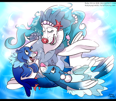 Primarina Family by Ruby-Orca-616
