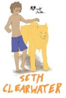 Seth Clearwater -colored- by Fadedflight