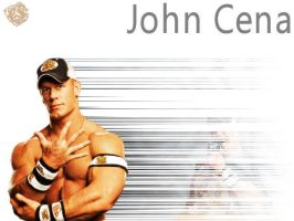WWE Wallpaper Series 2: Cena by tassie-taker