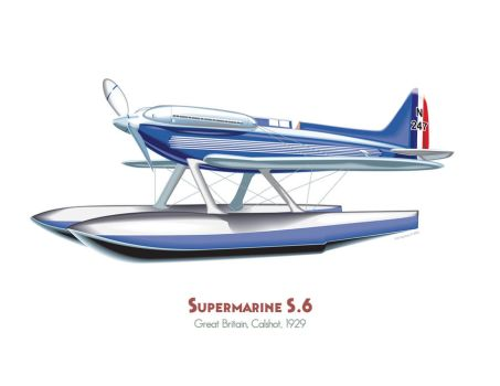 Supermarine S.6 by MercenaryGraphics