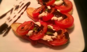 Spring Bruschetta Detail by PrYmO-ART