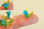 Miracle of Nature the Micro Miniature Dragon by wibblequibble