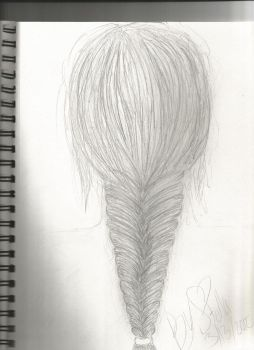 Fishtail braid by hereiwasnot