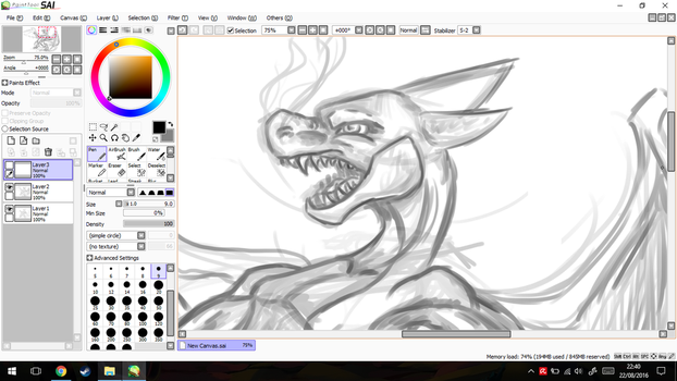 WIP Mega Charizard Y by GirlScoutDragon