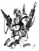 Mandalorian by LivioRamondelli