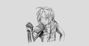 Edward Elric by TheRedAuthor