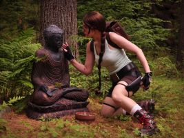 Lara and the Ruins by TheCosplayMom