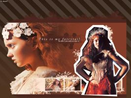 Lily Cole Wallpaper by ThankyouStranger
