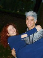 Jack Frost and Merida ~ cosplay @ Lucca Comics by LuXoN94