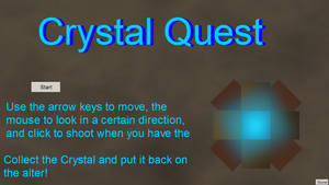 Crystal Quest by Natalie02