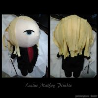 Lucius Malfoy Plushie by dragaodepapel