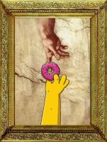 creation of homer by Himynameisrob