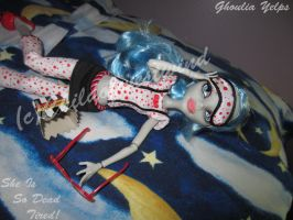 Ghoulia She Is So Dead Tired 3 by Childofwestwind