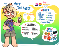 MEET THE ARTIST by JUNO-COYOTE