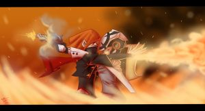 AP: Let the Sparks Fly by ThePsychoArtist