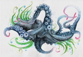 Octopus by Gebefreniya