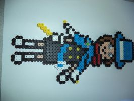Trucy Wright bead sprite by AthenaCykes