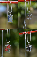Attack On Titans Pendants $10-each by PrincessSongBird