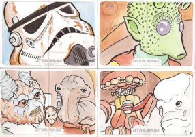 Star Wars Illustrated: A New Hope Set 5 by Tyrant-1
