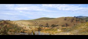 Murrumbidgee River by DPasschier