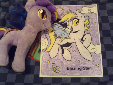 Blazing Star coloring page by Nas160