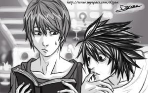 DeathNote - Break time by Dzoan