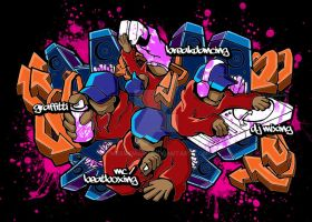 hiphop elements colored by Messymaru