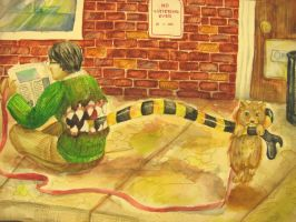AP Art - pomeranian appetizer by lunescence