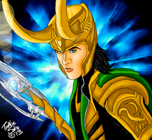 Loki by Chrisily