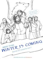 A Day in Winterfell by sketchditto