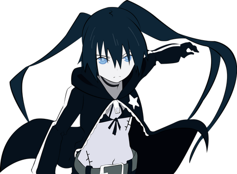 Black Rock Shooter by Ryuukage