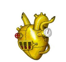 Steampowered Heart by Anararion