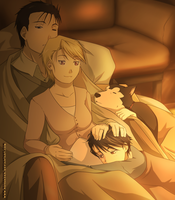 Family's warmth by NoVaNoah