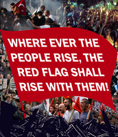 Red Flag Rising by Party9999999