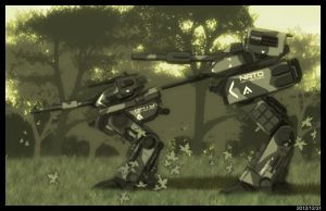 Mechs in the Woods. by Khal941