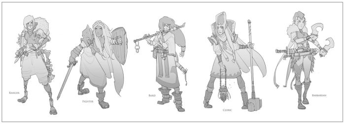 Fantasy Classes by BrotherBaston