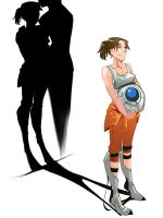 portal2 Shadow lover by biggreenpepper