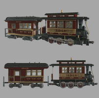 Eagle Gulch and Cress Ridge Railway - #1 ''Dinky'' by theIronHorse319